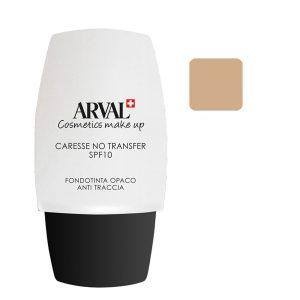 Arval Caresse No Transfer Fondotinta Opaco Anti - Traccia SPF 10 n. 02 sabbia
