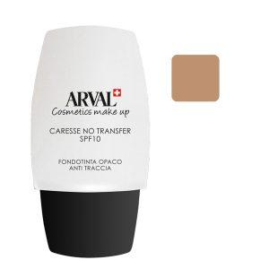 Arval Caresse No Transfer Fondotinta Opaco Anti - Traccia SPF 10 n. 04 beige scuro