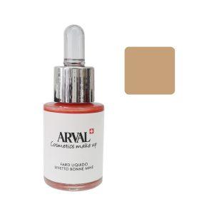 Arval Fard Liquido Effetto Bonne Mine n. 01 beige rosato