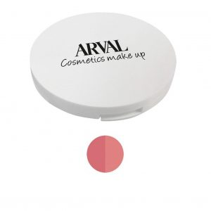Arval Fard Compatto Duo n. 01 rosa naturale e rosa geranio