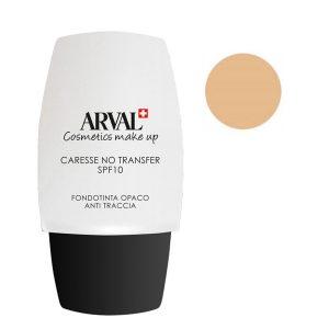 Arval Caresse No Transfer Fondotinta Opaco Anti - Traccia SPF 10 n. 01 beige chiaro