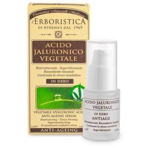 Athena's L'Erboristica Acido Jaluronico Vegetale in Siero 15 ml