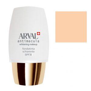 Arval Antimacula Whitening Makeup Fondotinta Schiarente SPF30 30 ml n. 1 beige chiaro rosato