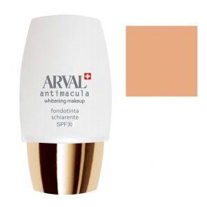 Arval Antimacula Whitening Makeup Fondotinta Schiarente SPF30 30 ml n. 2 miele dorato