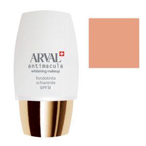 Arval Antimacula Whitening Makeup Fondotinta Schiarente SPF30 30 ml n. 3 beige