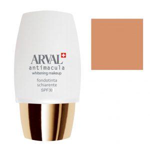 Arval Antimacula Whitening Makeup Fondotinta Schiarente SPF30 30 ml n. 4 beige scuro
