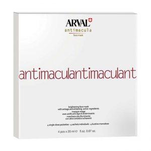 Arval Antimacula Brightening Face Mask 4 bustine monodose da 20 ml