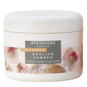 Atkinsons English Garden - Peach Flowers - Crema Corpo Nutriente 250 ml
