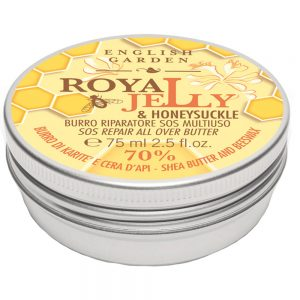 Atkinsons English Garden Royal Jelly & Honeysuckle - Burro Riparatore Sos Multiuso 75 ml