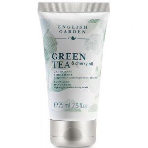 English Garden Green Tea & Cherry Oil - Crema Mani Emolliente 75 ml
