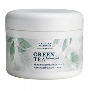 English Garden Green Tea & Cherry Oil - Scrub Corpo Rinnovatore 250 ml