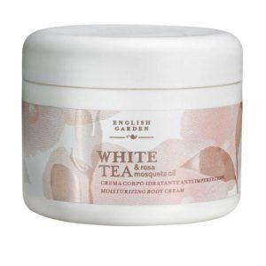 English Garden White Tea & Rosa Mosqueta Oil - Crema  Corpo Idratante Anti Imperfezioni 250 ml