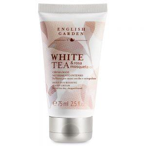 English Garden White Tea & Rosa Mosqueta Oil - Crema Mani Nutrimento Intenso 75 ml